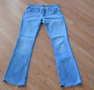 Ladies juniors AMERICAN EAGLE boot cut light wash jeans size 0