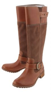 GVH Timberland Boot Co Wheat Bethel Buckle Tall Knee Boots Womens 6