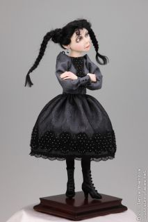 Belladonna OOAK Halloween Fairytale Fantasy Character Art Doll by