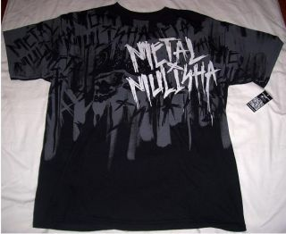 METAL MULISHA NWT XL SHIRT slayer west coast choppers brian deegan