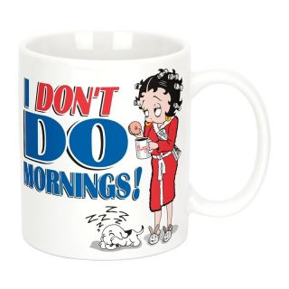 Betty Boop I DonT do Mornings11oz Ceramic Coffee Mug