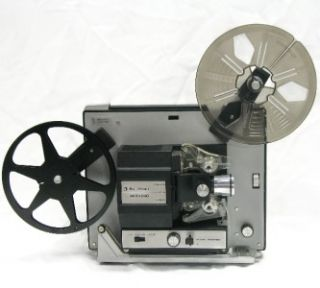 BELL & HOWELL 462A SUPER 8 mm SILENT MOVIE FILM PROJECTOR (with DJL
