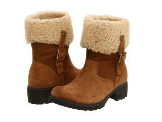 UGG Australia Womens Bellvue II 2 Boots New Size 9 5 Chestnut Suede