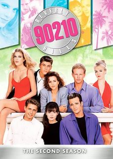 Beverly Hills 90210 The Complete Second Season DVD 2007 8 Disc Set