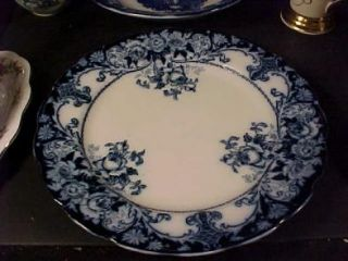weatherly sons belmont flow blue 10 1 4 plate this is a lovely j h