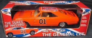 Dukes of Hazzard General Lee 1969 Charger Cooter Ben Jones Signed 7967