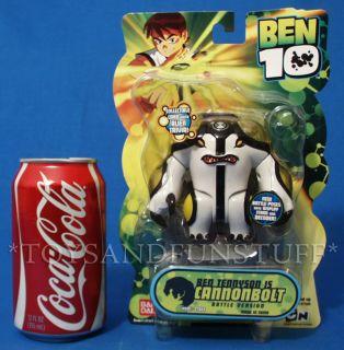 New Cannonbolt Ben 10 4 Action Figure 2008 Battle Version Alien