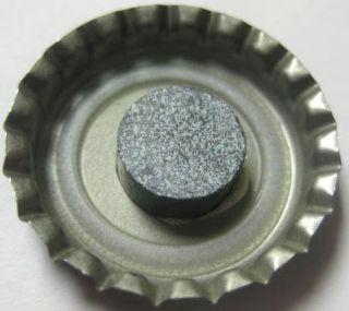 LAGUNITAS BREWING COMPANY black Beer CROWN & MAGNET Bottle Cap w/ DOG