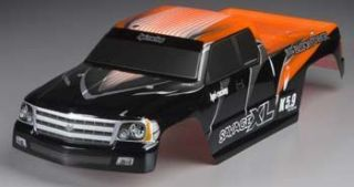 New HPI Savage XL Orange Painted Body Stickers Extended