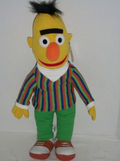 24 Large Sesame Street Plush Bert Doll w Tags 2003