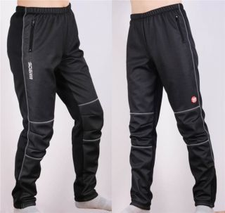 SOBIKE Bike Cycling Winter Pants Tights Bicycle Fleece Windproof Pants