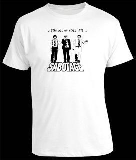 Beastie Boys Hip Hop Classic Cool Trendy 80s T Shirt
