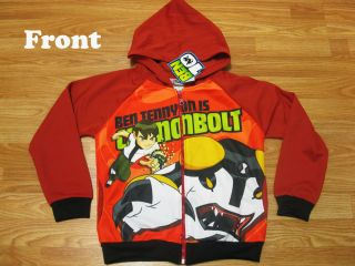 Ben 10 Hoodie Spring Jacket Cannonbolt Size XL Age 10 12