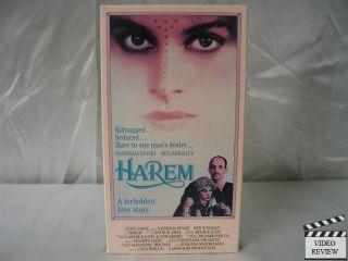 Harem VHS Nastassja Kinski Ben Kingsley Arthur Joffe 028485152014