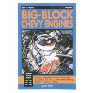 New How to Rebuild Your Big Block Chevy Book 160 Pages