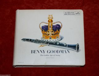 Benny Goodman The Golden Age of Swing Limited Edition Set of 15 45rpm