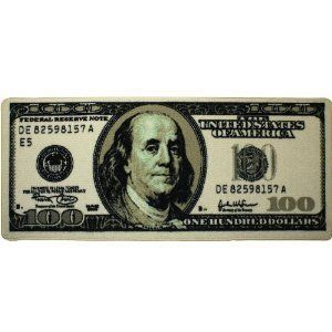 New Big Money Area Rug $100 Dollar Bill Runner Hundred Benjamin