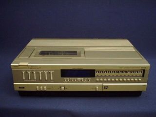 Beamax Bea VCR Video ape Recorder Player Jus Serviced