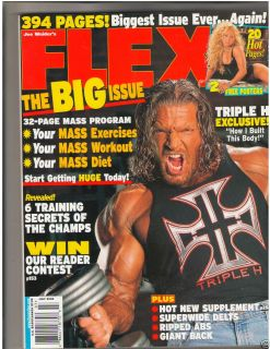 Muscle Fitness Magazine WWE Wrestler Triple H/Beth Horn 7 02