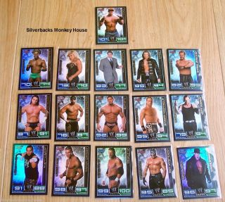 WWE Slam Attax Champion Card You Choose Which One s Free P P