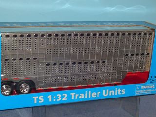 Big Rig Pot Belly Livestock Truck Trailer 1 32