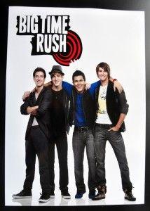 Big Time Rush Poster 13 x 19 Kendal Schmidt Pin Up BTR