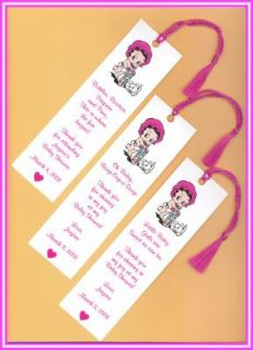 25 Baby Betty Boop Baby Shower Favors Bookmarks
