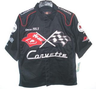 NASCAR Authentic GM Chevrolet Corvette Racing Pit Crew Embroidered