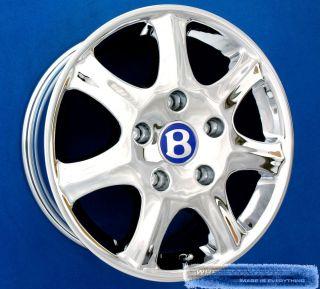 Bentley Azure Brooklands Continental 18 Chrome Wheels 18 Rims New