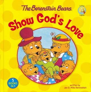 Berenstain Bears Show Gods Love 5 in 1 Collection Childrens Book HC