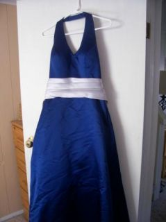 Bill Levkoff Halter Gown Formal Prom Cocktail Evening Bridesmaid Size