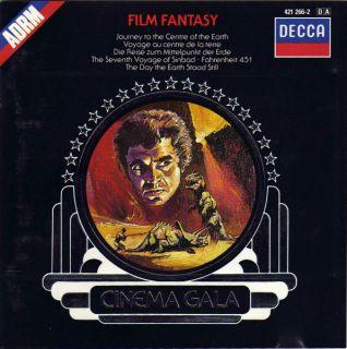 Hear CD Herrmann Film Fantasy Theremin Earth Stood Still Sinbad