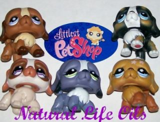 LPS St Bernard Puppy Dog Lot 145 688 1133 481 1118 Littlest Pet Shop