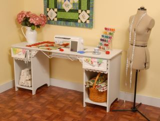 Arrow Olivia Sewing Machine Cabinet 1004 Pistachio