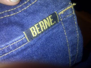 Size 50 x 32 Jeans dark blue Berne Nice Fit