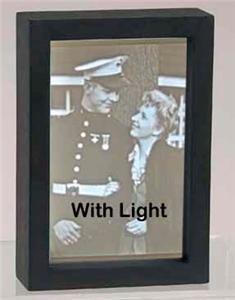 LED Light Panel to Back Light 1/4 Corian Acrylic Lithophane