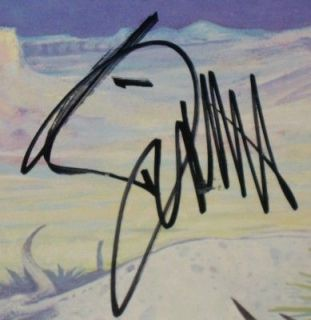 Billy Gibbons Signed ZZ Top Tejas Album LP PSA DNA