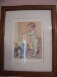 Bessie Pease Gutmann Framed Print Taps
