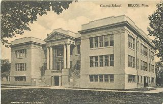 MS Biloxi Central School Town View Albertype K10523