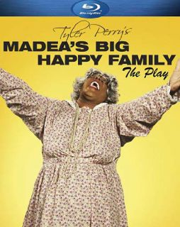 MADEAS BIG HAPPY FAMILY   THE PLAY (BLU RAY) *NEW BL