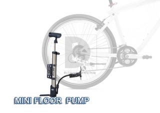 New 360° Beto Mini Bicycle Floor Portable Bike Cycling Pump