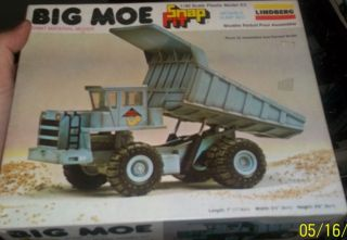 LINDBEERG BIG MOE 1 40 DUMP TRUCK VINTAGE Model Car Mountain