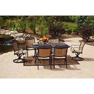 piece outdoor patio dining set home garden furniture chairs table new