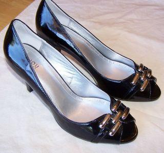 Bijou New York High Heel Shoes Open Toe Womens Sz 10M