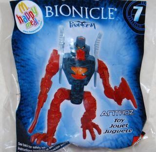 McDonalds 2008 Bionicle Phantoka Antroz Toy 7