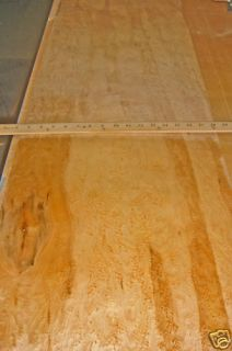Natural Birdseye Maple 15 x 70 wood veneer