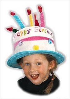Birthday Jazz Childrens Unisex Birthday Cake Happy Hat