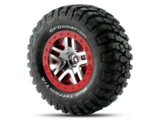 Traxxas 6873A BF Goodrich Mud Terrain Tire Wheel Package Slash 4x4 4x2