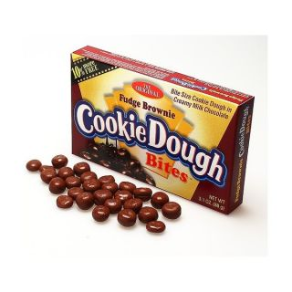 Fudge Brownie Cookie Dough Bites 88g Box American Candy Sweet Retro