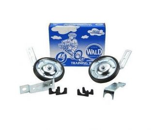 Wald 10252 Bicycle Training Wheels, 16 to 20 Inch Wheels, 1 1/4in Rear